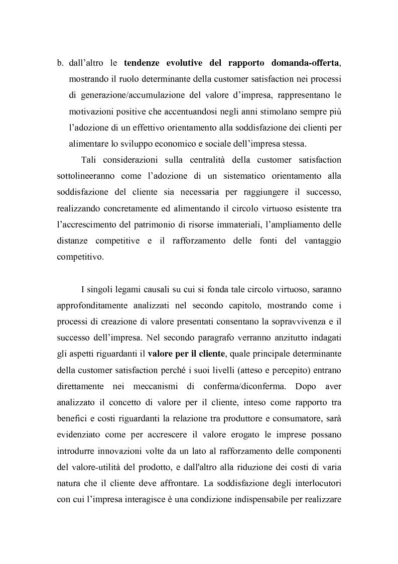 Anteprima della tesi: La misurazione della soddisfazione del cliente (customer satisfaction): una verifica empirica nel settore delle carte prepagate ricaricabili, Pagina 2