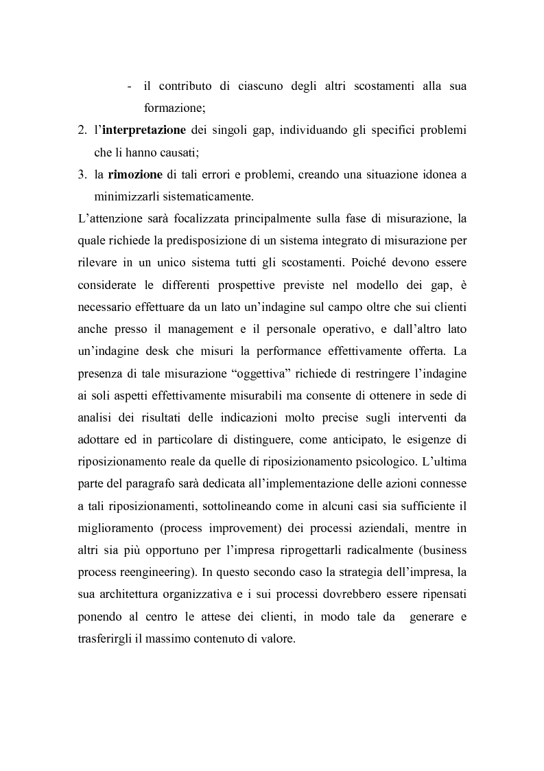 Anteprima della tesi: La misurazione della soddisfazione del cliente (customer satisfaction): una verifica empirica nel settore delle carte prepagate ricaricabili, Pagina 7