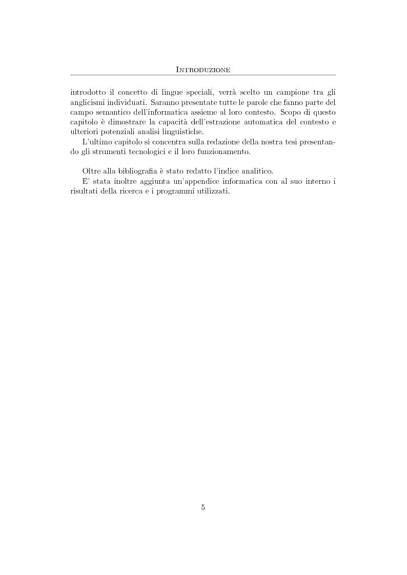 Anteprima della tesi: Anglicismi nel francese contemporaneo: tecniche di ricerca computazionale su un corpus giornalistico, Pagina 3