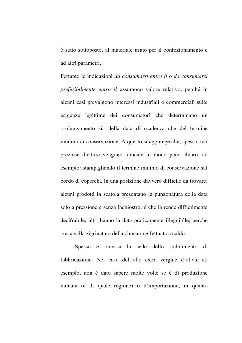 Anteprima della tesi: L'etichetta come vantaggio competitivo per le imprese alimentari, Pagina 11