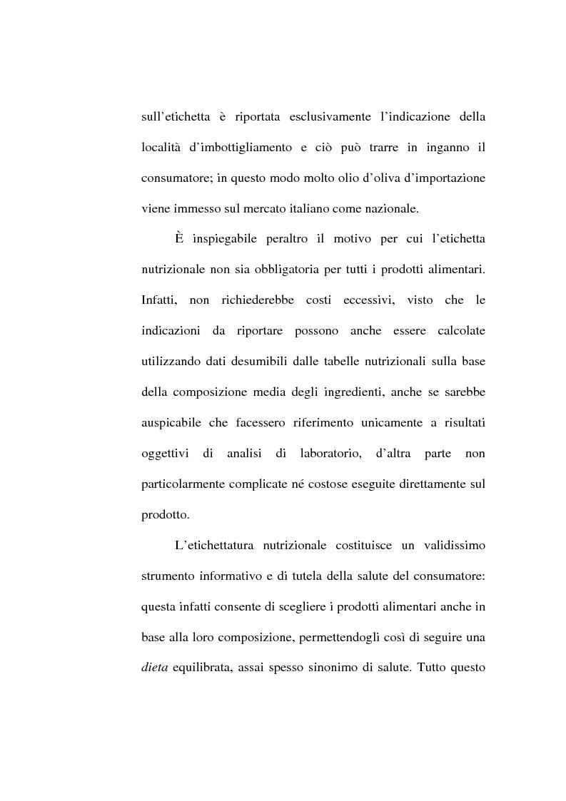 Anteprima della tesi: L'etichetta come vantaggio competitivo per le imprese alimentari, Pagina 12