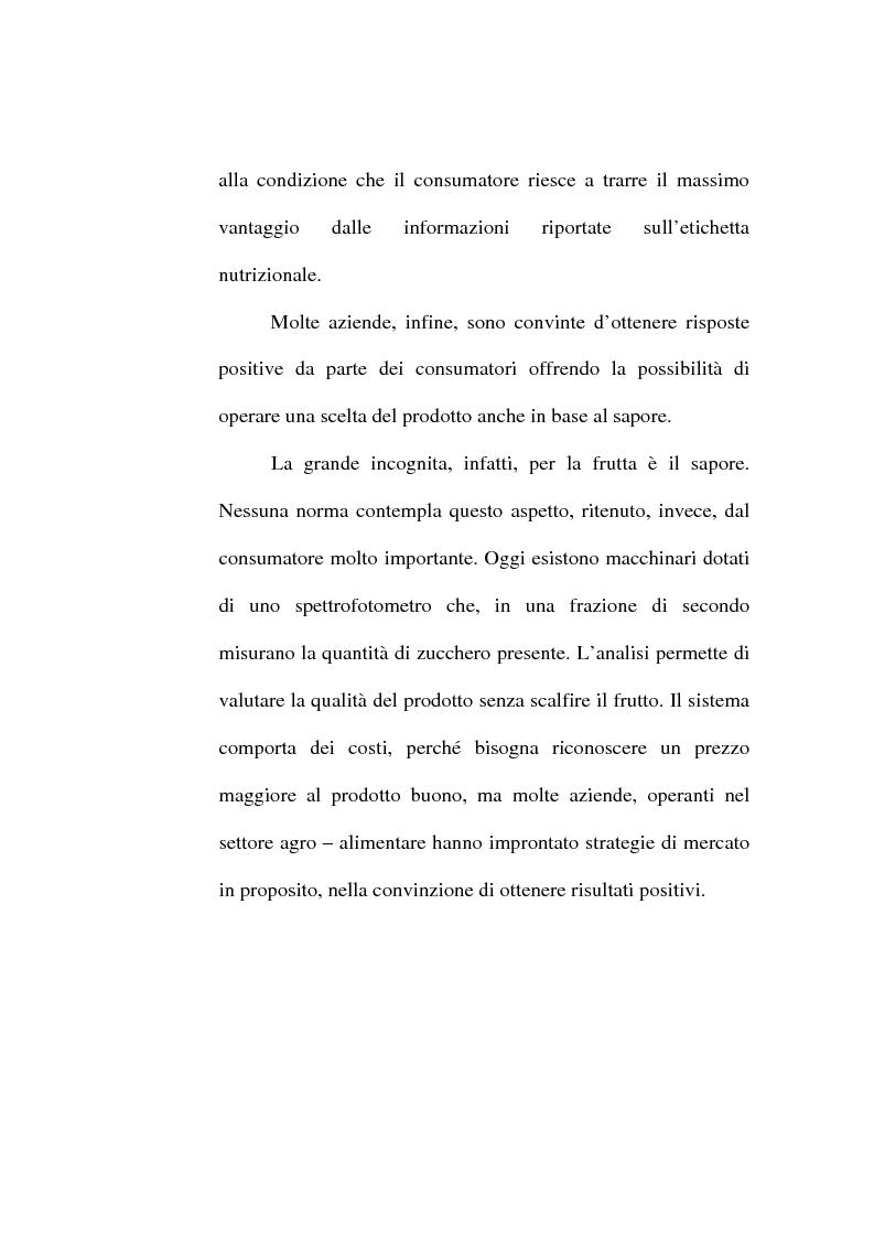 Anteprima della tesi: L'etichetta come vantaggio competitivo per le imprese alimentari, Pagina 13