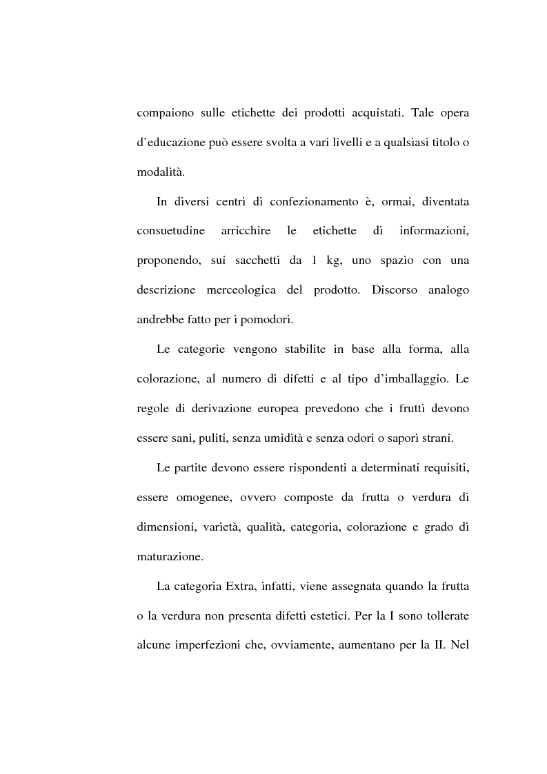 Anteprima della tesi: L'etichetta come vantaggio competitivo per le imprese alimentari, Pagina 5