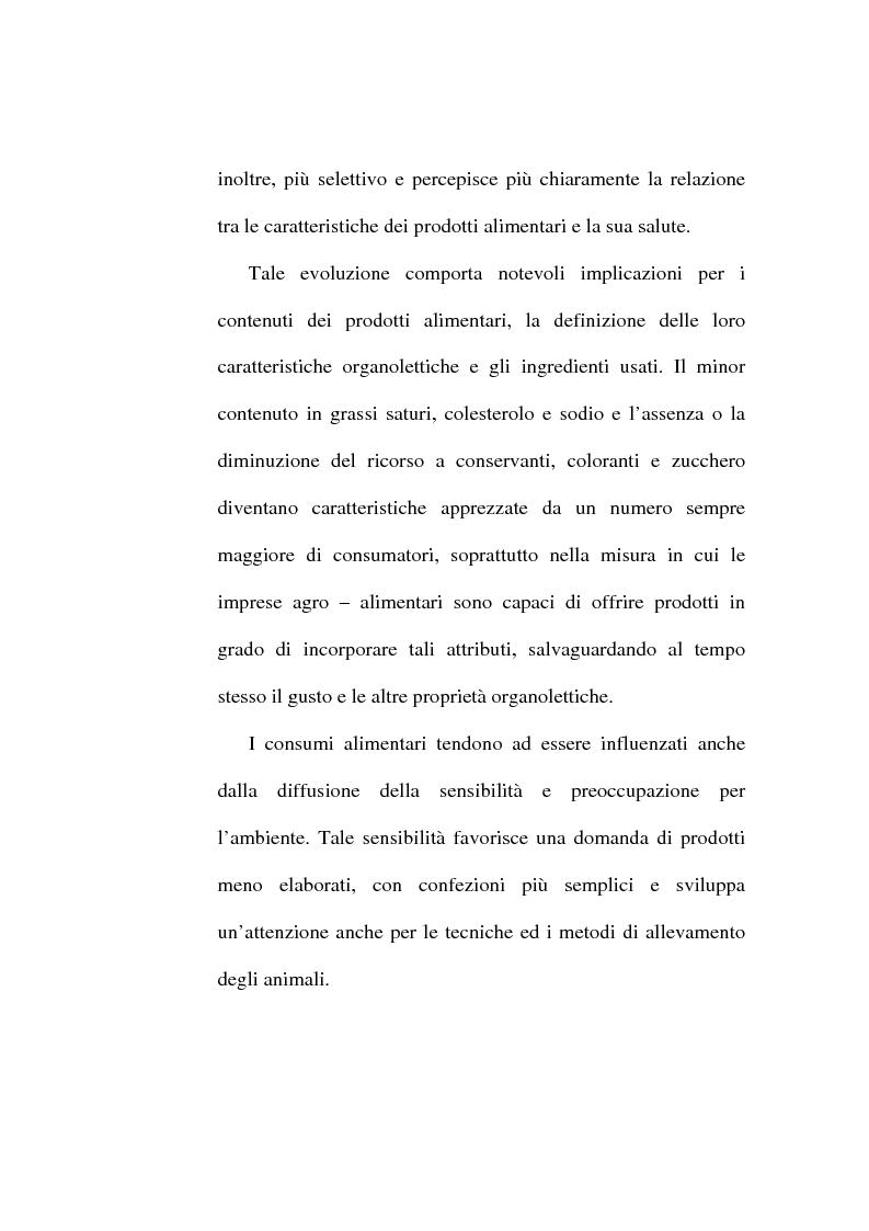 Anteprima della tesi: L'etichetta come vantaggio competitivo per le imprese alimentari, Pagina 8