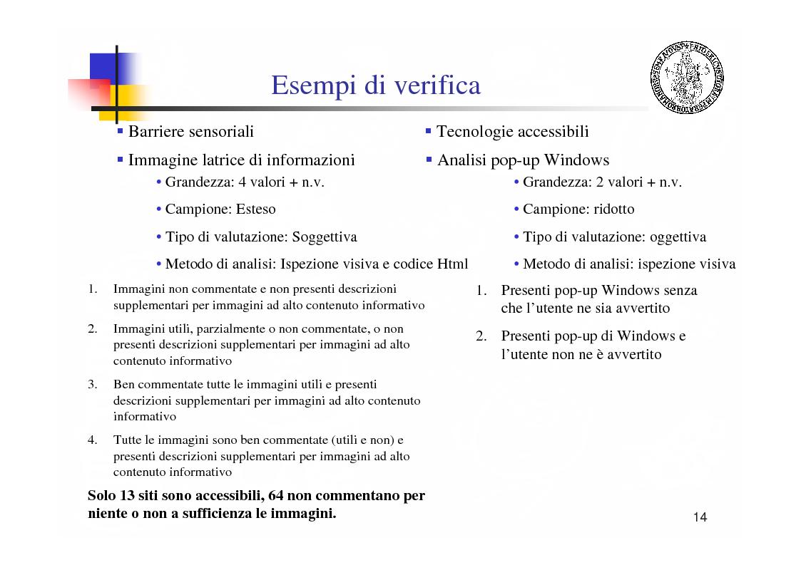 Anteprima della tesi: Metodologie e tecnologie per la verifica di accessibilità ai disabili di sistemi web, Pagina 14