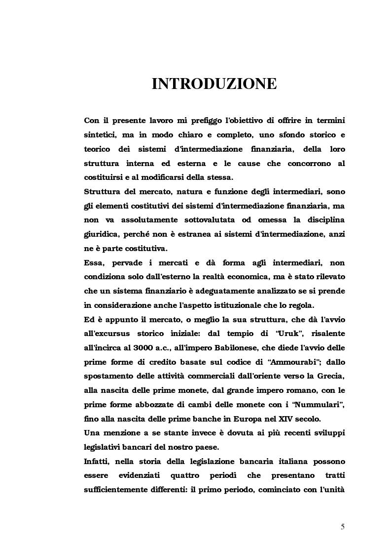 Anteprima della tesi: Iter Intra intermediationem: evoluzione dei mercati sino all'avvento della New Economy, Pagina 1