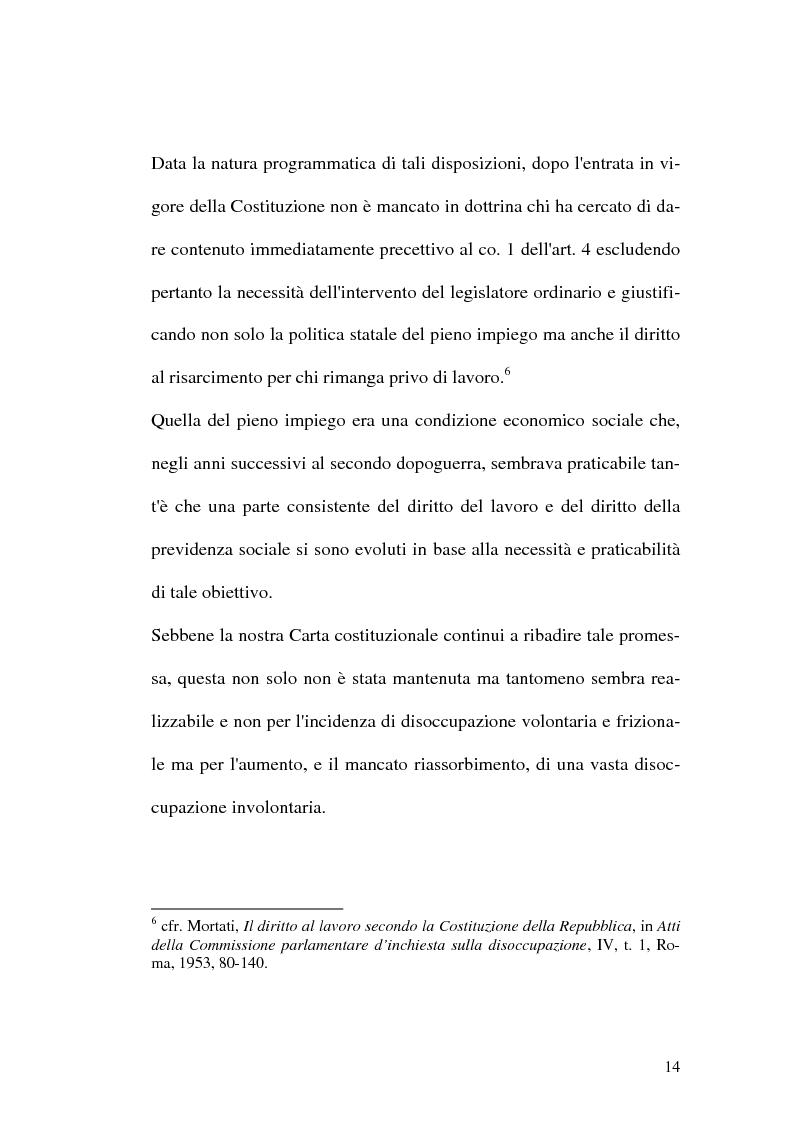 Anteprima della tesi: Intervento pubblico e tutela dell'occupazione, Pagina 11