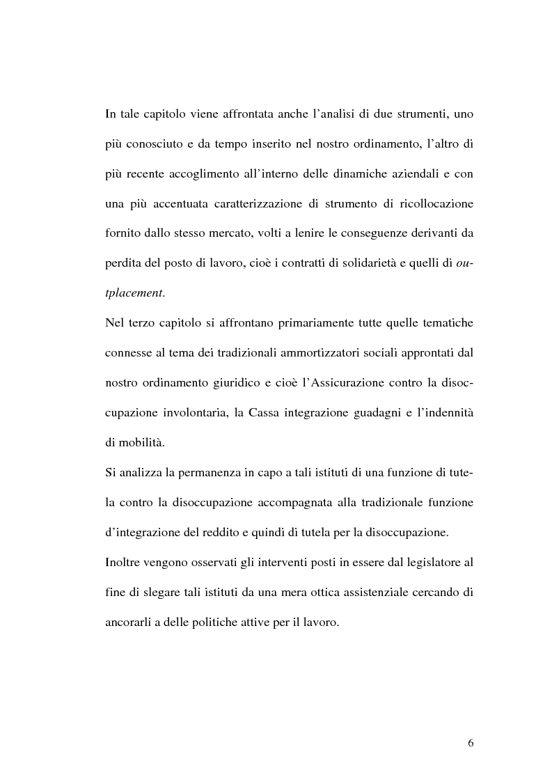Anteprima della tesi: Intervento pubblico e tutela dell'occupazione, Pagina 3