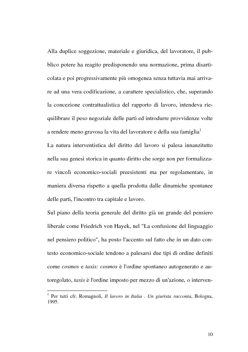 Anteprima della tesi: Intervento pubblico e tutela dell'occupazione, Pagina 7