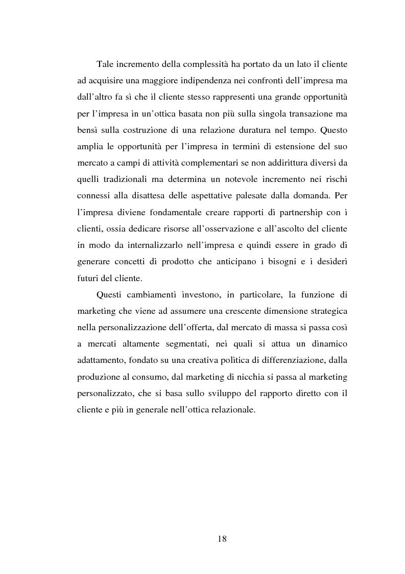 Anteprima della tesi: Micromarketing e carta fedeltà nella distribuzione moderna, Pagina 12
