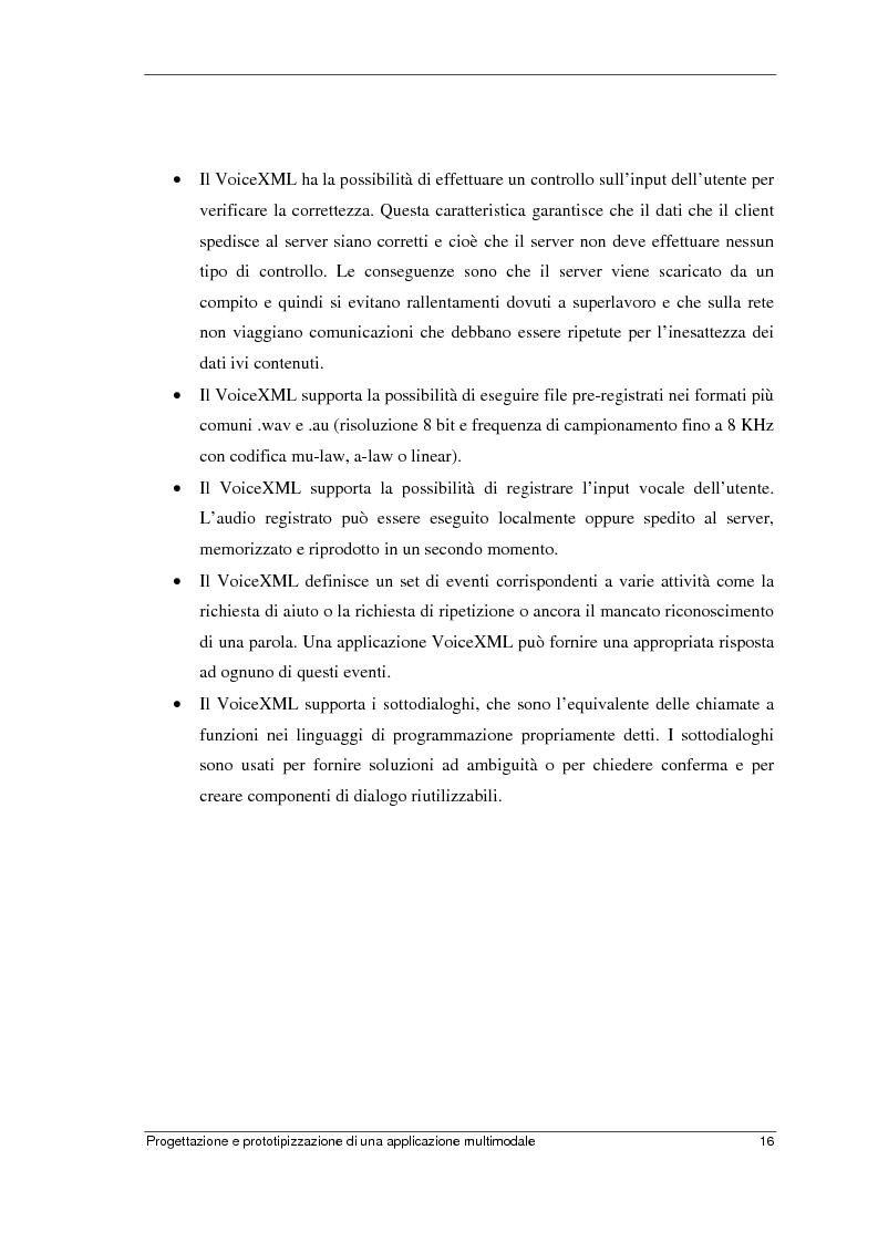 Anteprima della tesi: Progettazione e prototipizzazione di una applicazione multimodale, Pagina 12