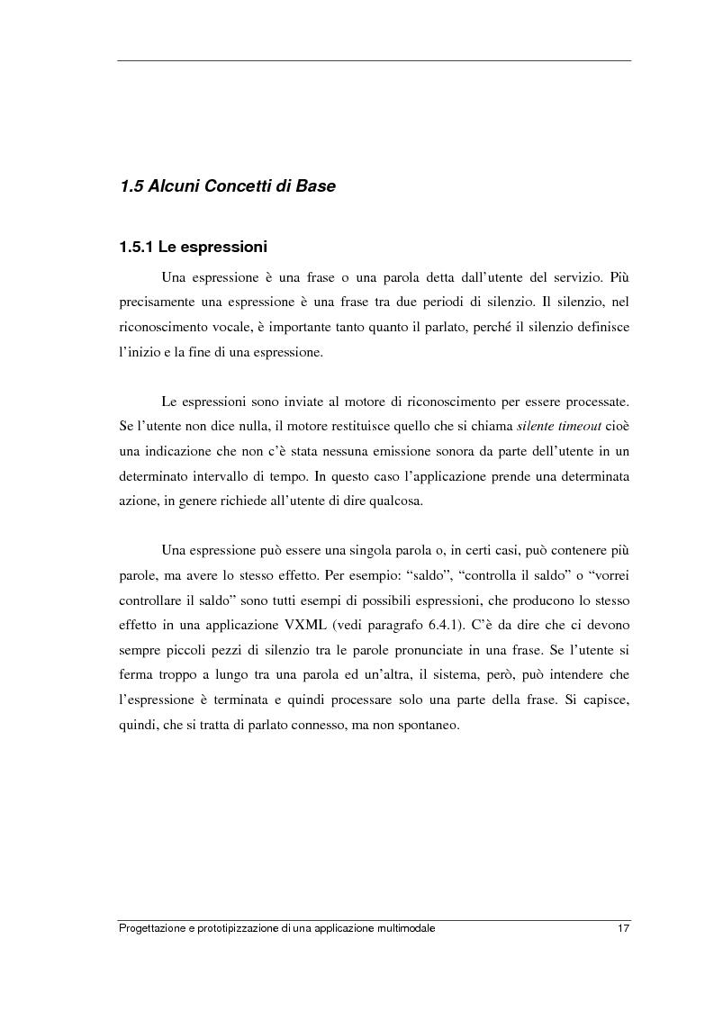 Anteprima della tesi: Progettazione e prototipizzazione di una applicazione multimodale, Pagina 13