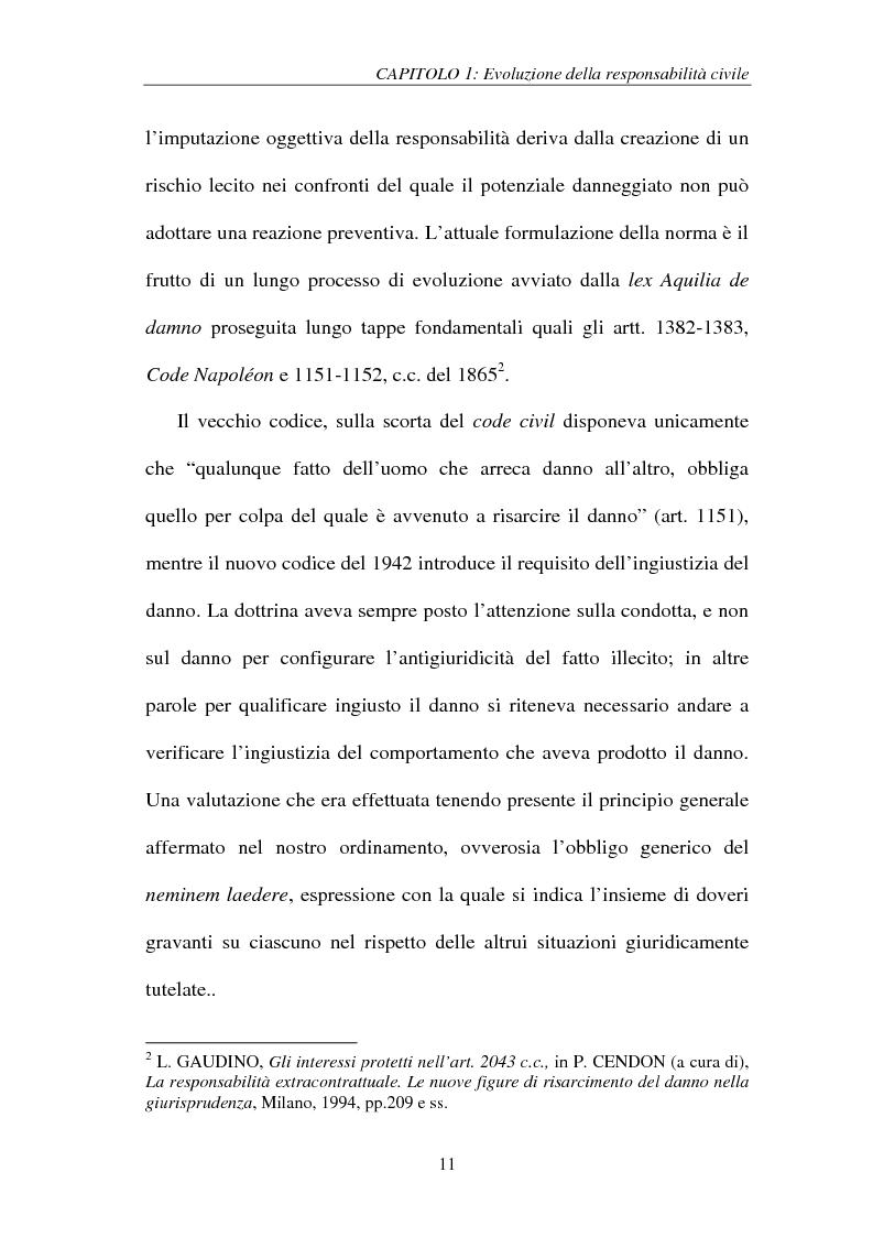 Anteprima della tesi: La responsabilità del produttore di sigarette, Pagina 11