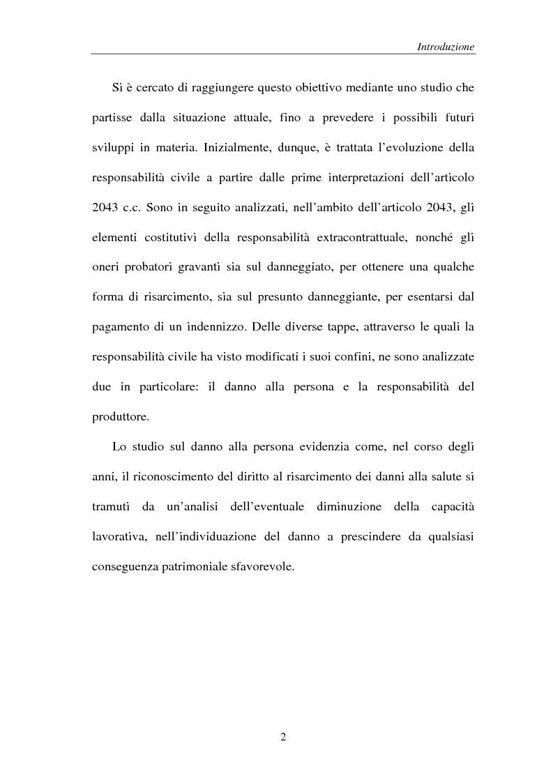 Anteprima della tesi: La responsabilità del produttore di sigarette, Pagina 2