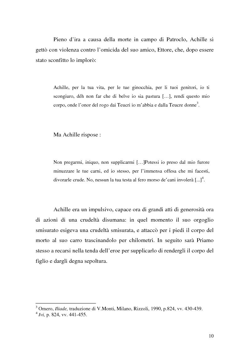 Anteprima della tesi: Pentesilea in Heinrich von Kleist e in Christa Wolf, Pagina 8