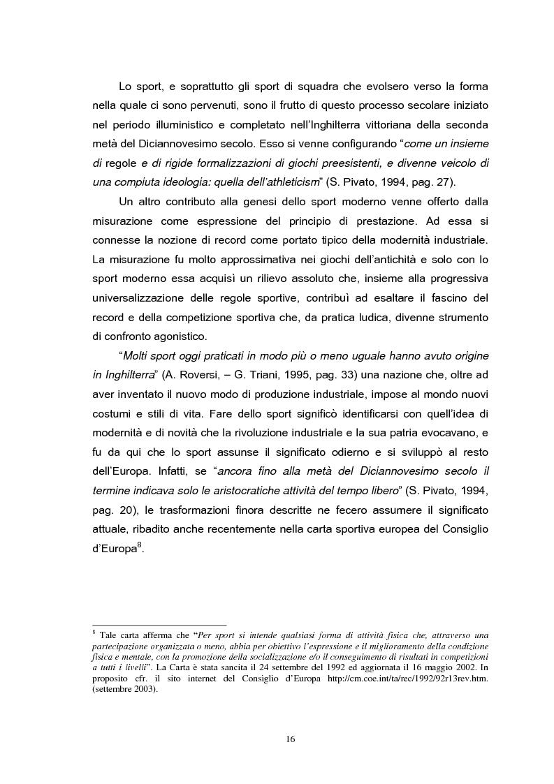 Anteprima della tesi: Le strategie di comunicazione delle società calcistiche italiane, Pagina 10