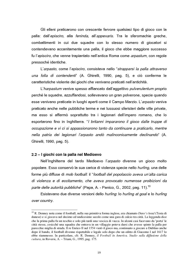 Anteprima della tesi: Le strategie di comunicazione delle società calcistiche italiane, Pagina 13