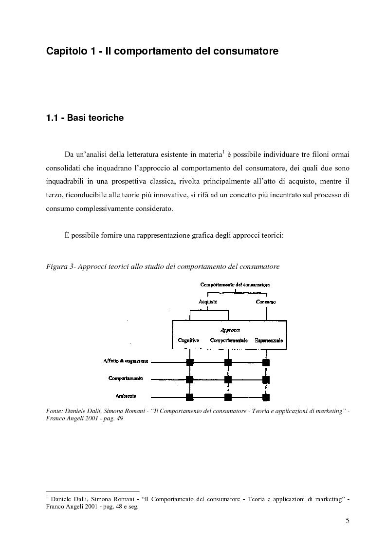 Anteprima della tesi: L'influenza delle attività di marketing in punto vendita sul comportamento di acquisto del consumatore: il caso della distribuzione moderna, Pagina 4