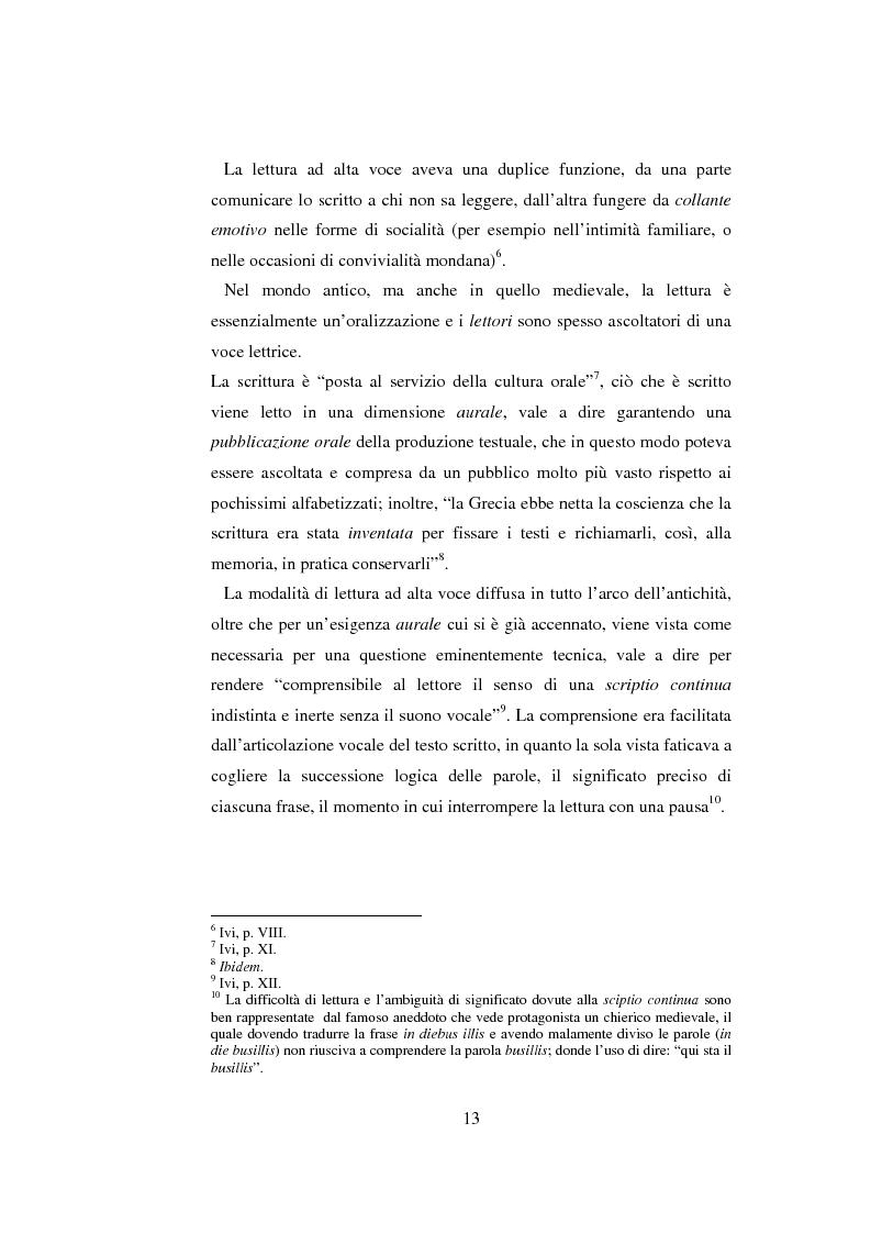 Anteprima della tesi: Quasi come Gian dei Brughi. Valore pegagogico e funzione della lettura ad alta voce nella scuola elementare, Pagina 13