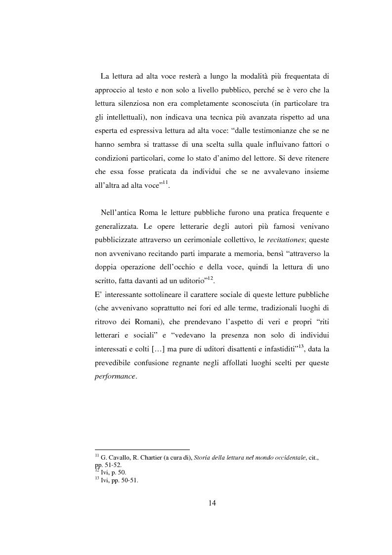 Anteprima della tesi: Quasi come Gian dei Brughi. Valore pegagogico e funzione della lettura ad alta voce nella scuola elementare, Pagina 14