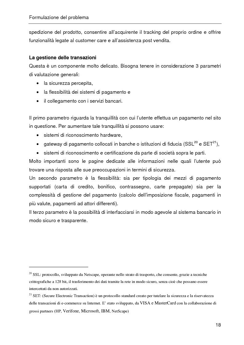 Anteprima della tesi: E-CRM. Progetto e realizzazione di un 'e-mall' orientato al cliente., Pagina 13