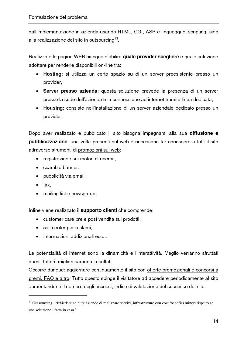 Anteprima della tesi: E-CRM. Progetto e realizzazione di un 'e-mall' orientato al cliente., Pagina 9
