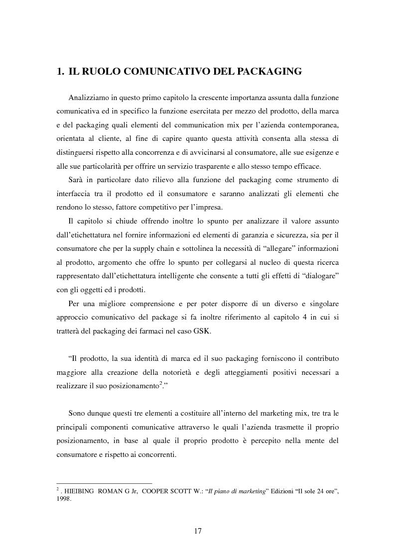 Anteprima della tesi: SMART TAGS - Le etichette elettroniche come strumento di marketing, Pagina 9