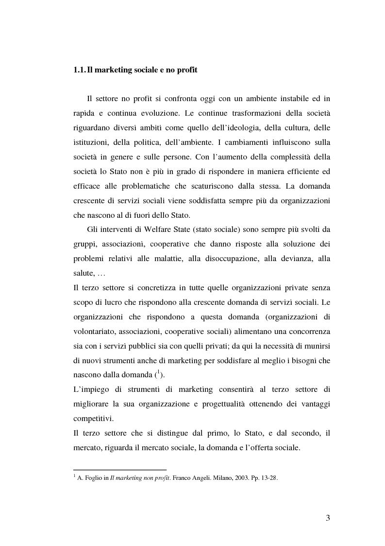 Anteprima della tesi: Marketing Sociale e sostenibilità sociale Nei Paesi del Terzo Mondo, Pagina 3