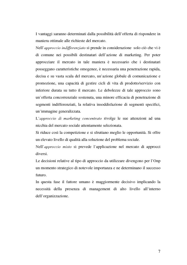 Anteprima della tesi: Marketing Sociale e sostenibilità sociale Nei Paesi del Terzo Mondo, Pagina 7
