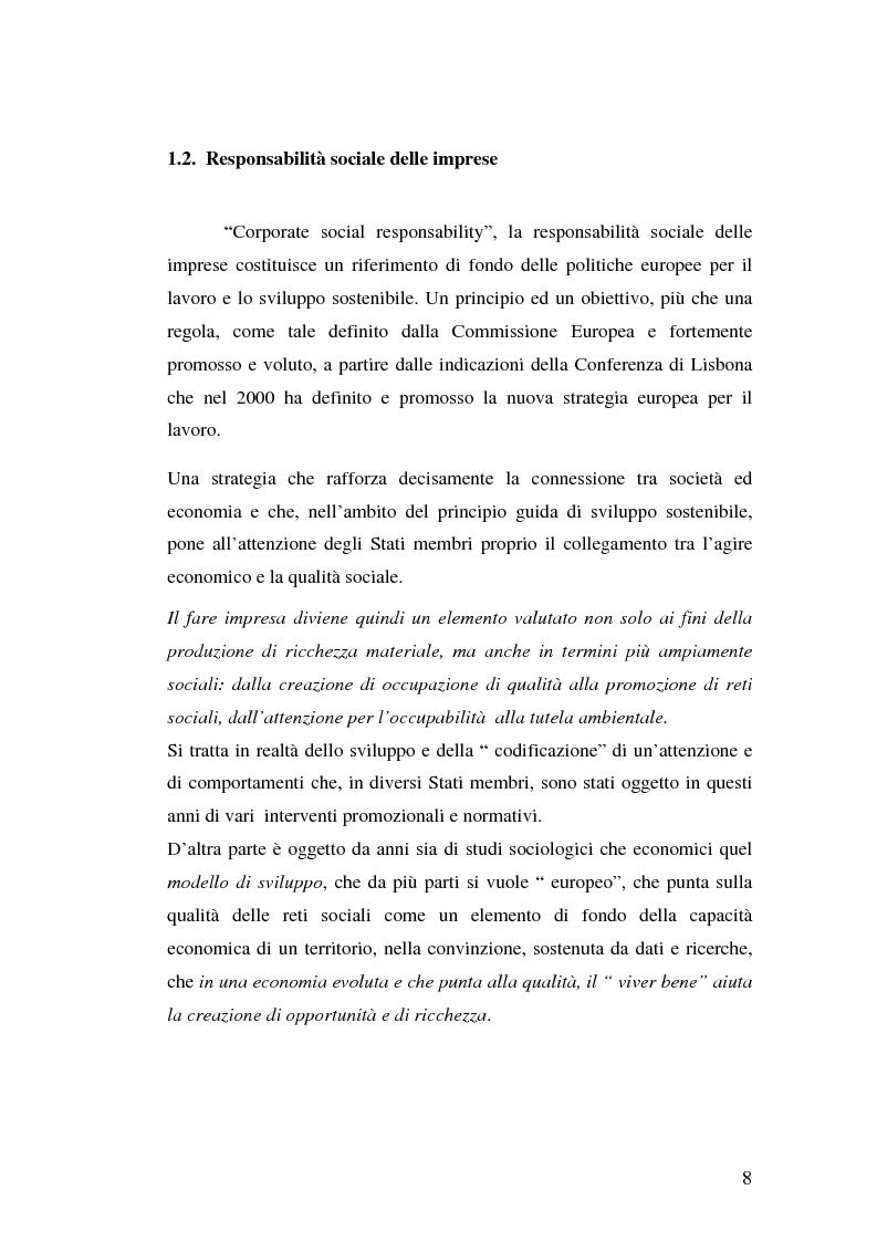 Anteprima della tesi: Marketing Sociale e sostenibilità sociale Nei Paesi del Terzo Mondo, Pagina 8