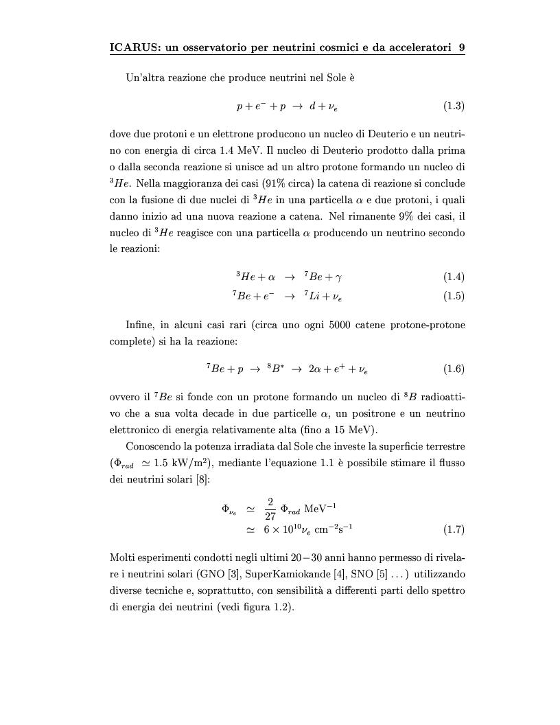 Anteprima della tesi: Disegno del sistema generale di trigger dell'esperimento ICARUS, progettazione e realizzazione della scheda di primo livello, Pagina 9