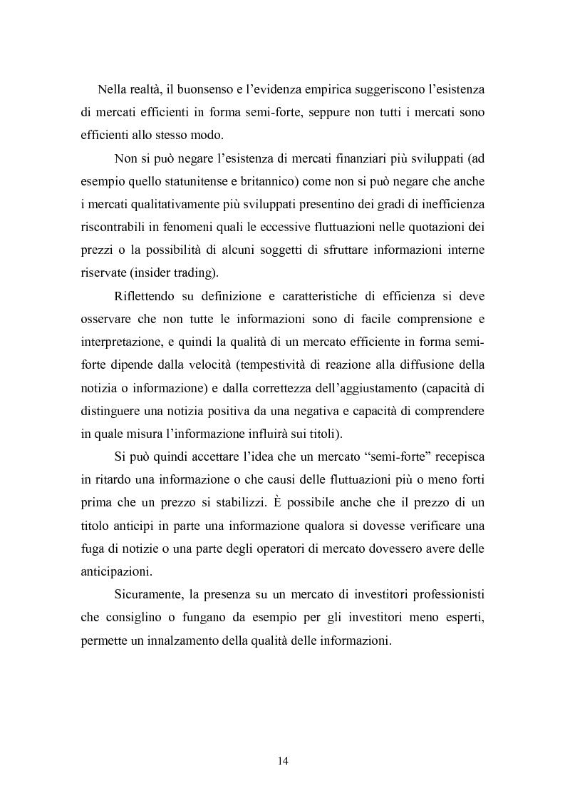 Anteprima della tesi: Il rating del debito: una determinante dei prezzi dei titoli azionari?, Pagina 14