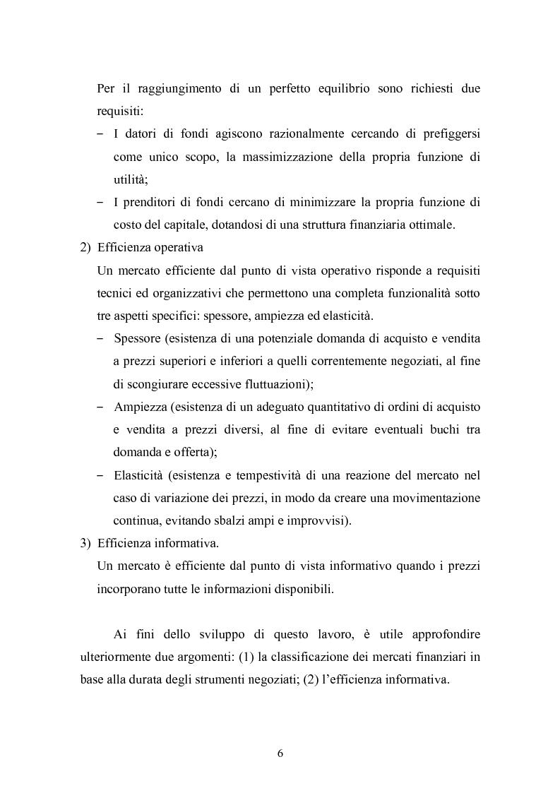 Anteprima della tesi: Il rating del debito: una determinante dei prezzi dei titoli azionari?, Pagina 6