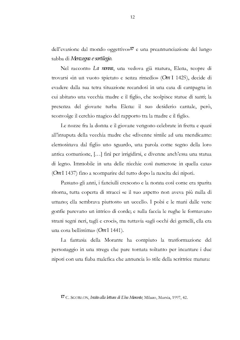 Anteprima della tesi: Luogo e pensiero del sogno. Itinerario morantiano., Pagina 12