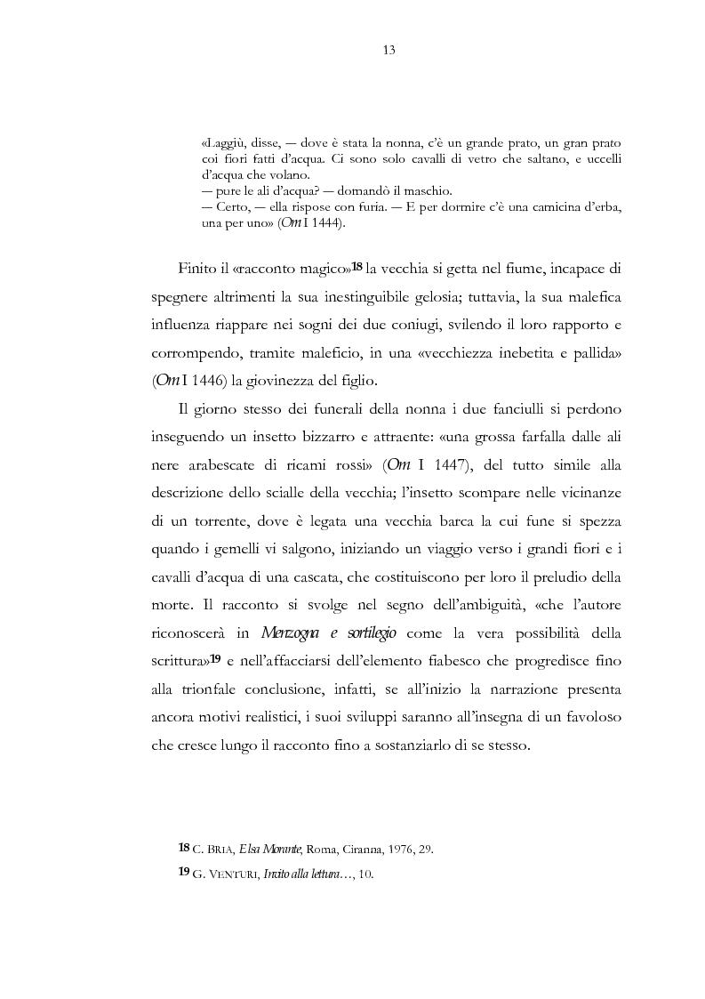 Anteprima della tesi: Luogo e pensiero del sogno. Itinerario morantiano., Pagina 13