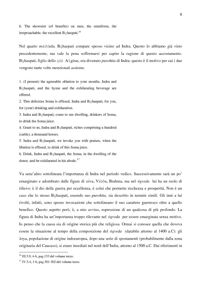Anteprima della tesi: Il sistema LOKAYATA: analisi delle principali scuole materialistiche indiane, Pagina 8