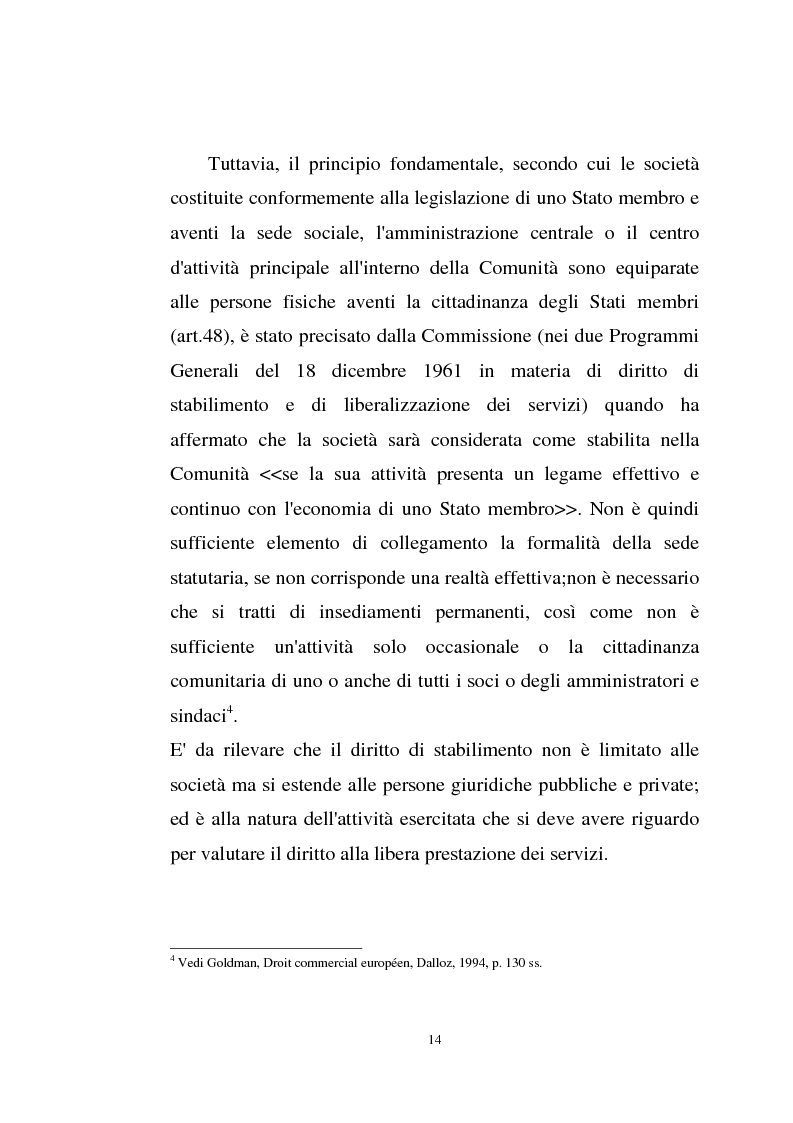 Anteprima della tesi: La disciplina comunitaria sulla '' società per azioni '' europea, Pagina 12
