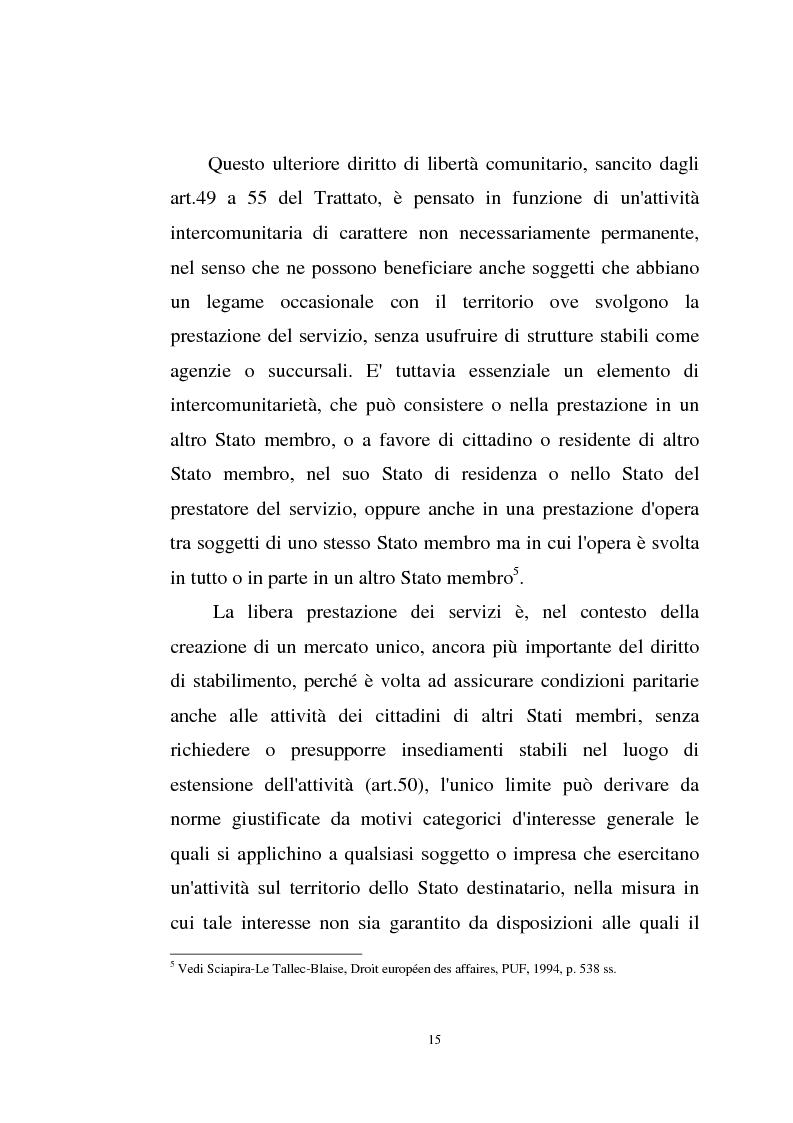 Anteprima della tesi: La disciplina comunitaria sulla '' società per azioni '' europea, Pagina 13