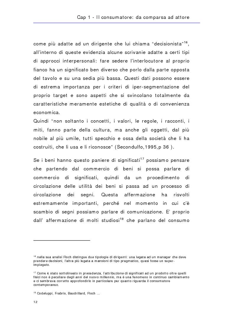Anteprima della tesi: Soldi in fumo? Imprese e impegno sociale: l'efficacia della comunicazione del cause related marketing relativa ad alcuni casi italiani, Pagina 15