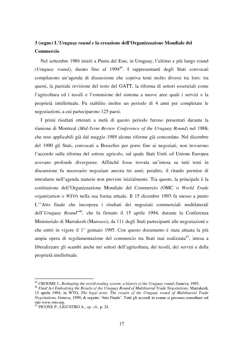 Anteprima della tesi: Movimenti transfrontalieri di organismi geneticamente modificati: protocollo di Cartagena e norme dell'OMC, Pagina 13