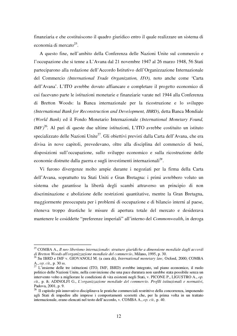 Anteprima della tesi: Movimenti transfrontalieri di organismi geneticamente modificati: protocollo di Cartagena e norme dell'OMC, Pagina 8
