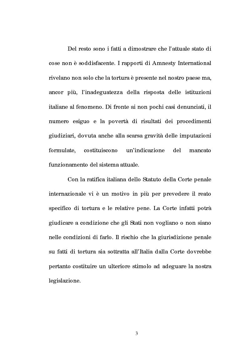 Anteprima della tesi: Analisi criminologica della tortura, Pagina 3