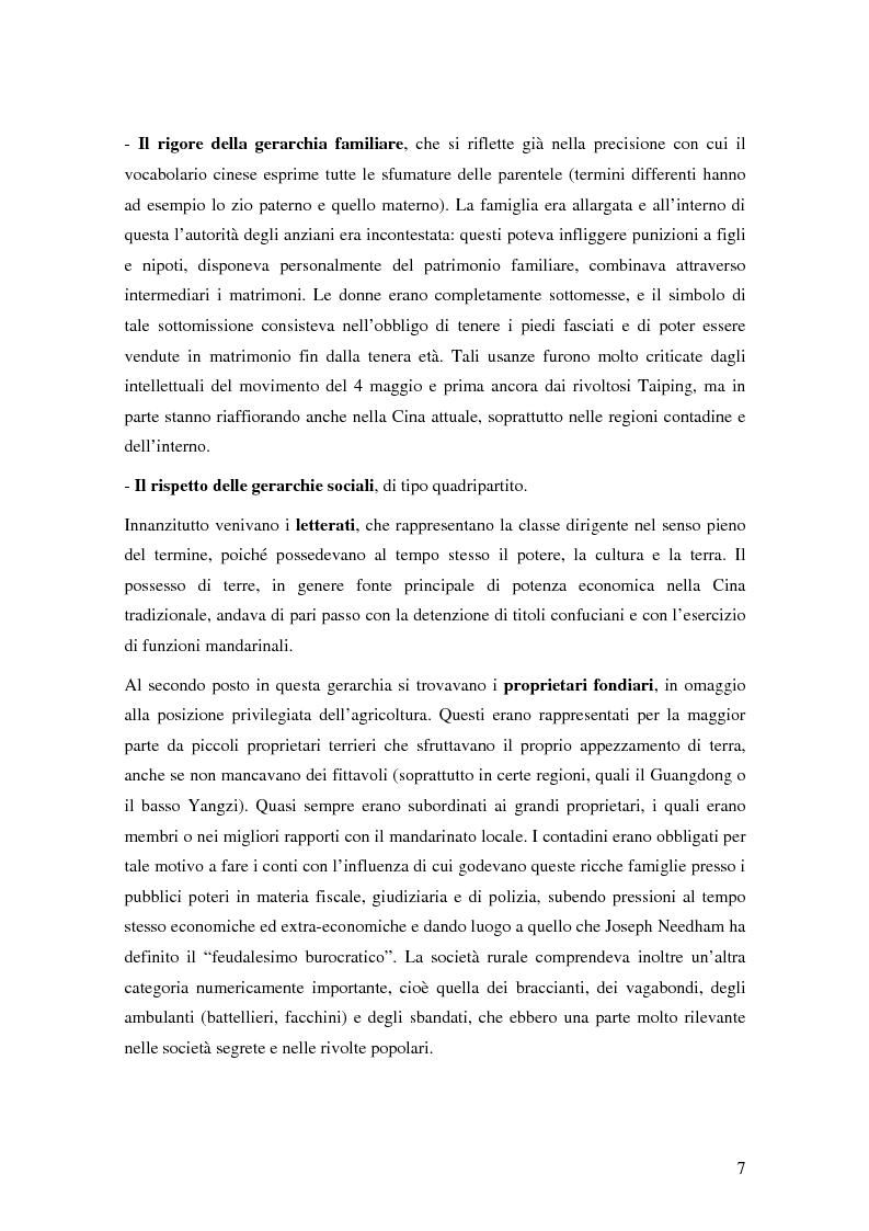 Anteprima della tesi: Storia del commercio della Cina contemporanea e dei mutamenti economici e sociali causati dall'ingresso nell'OMC e nel commercio internazionale, Pagina 5
