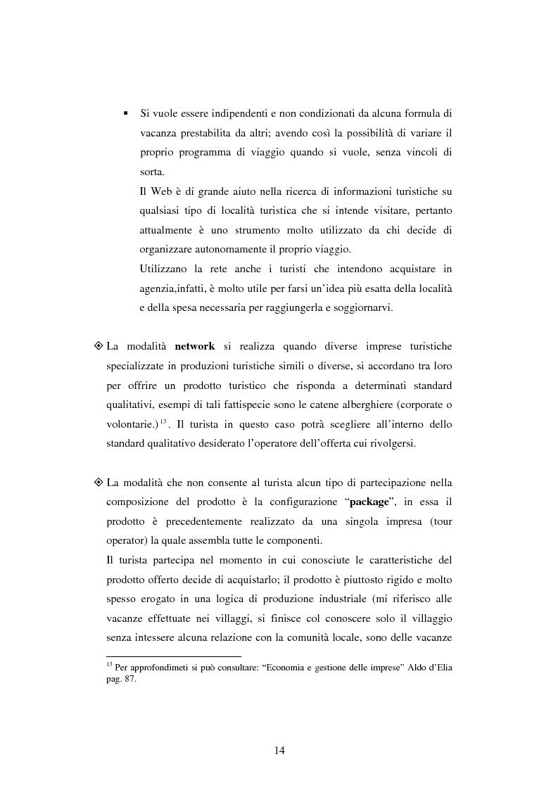Anteprima della tesi: Il turismo online, Pagina 11