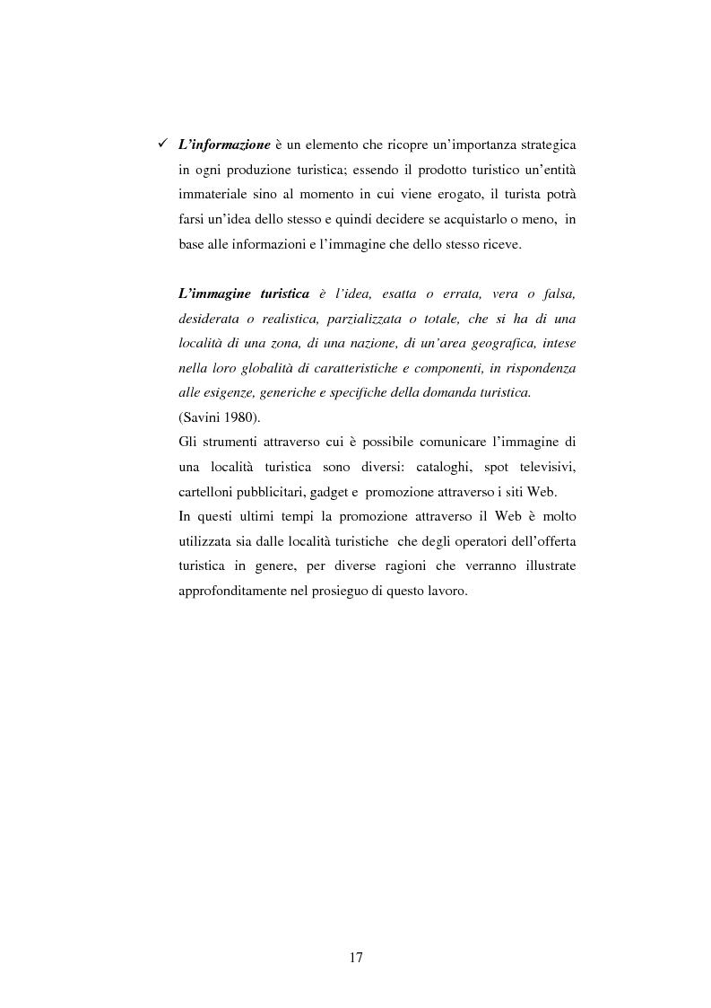 Anteprima della tesi: Il turismo online, Pagina 14