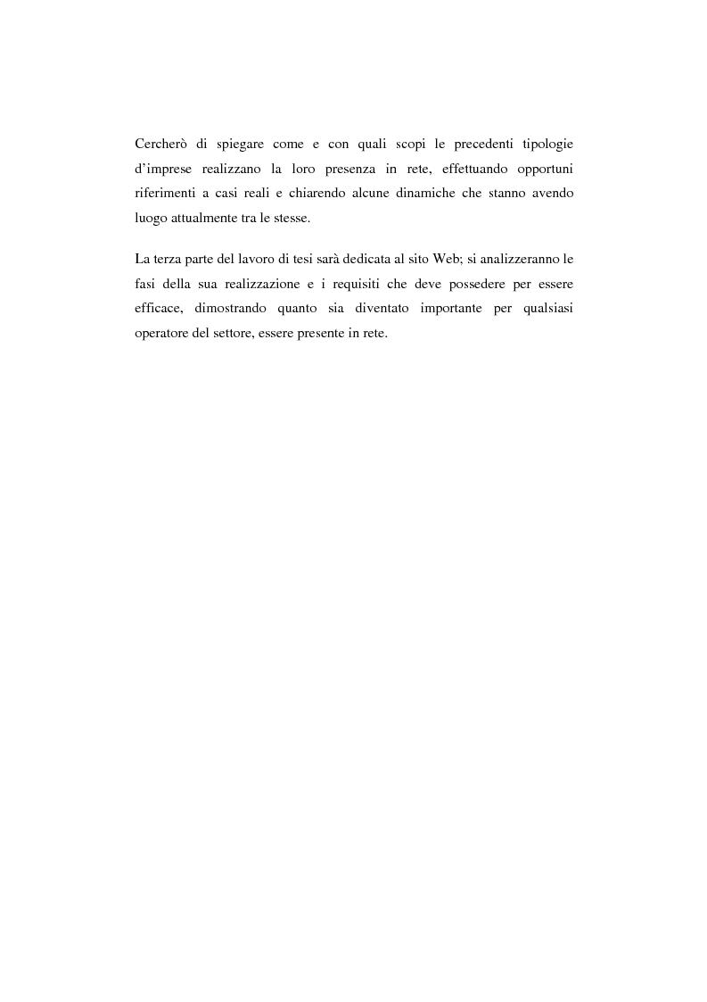Anteprima della tesi: Il turismo online, Pagina 2