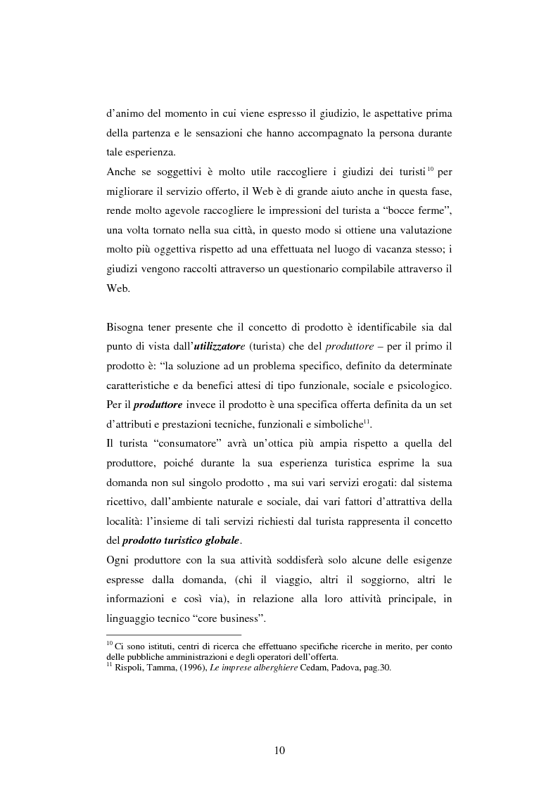 Anteprima della tesi: Il turismo online, Pagina 7