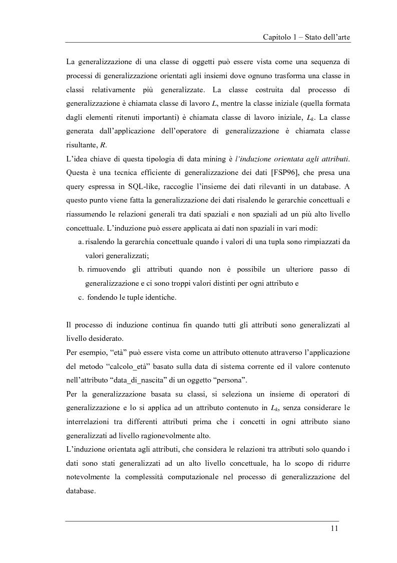 Anteprima della tesi: Ambiente logico per il Clustering Spazio-Temporale, Pagina 11