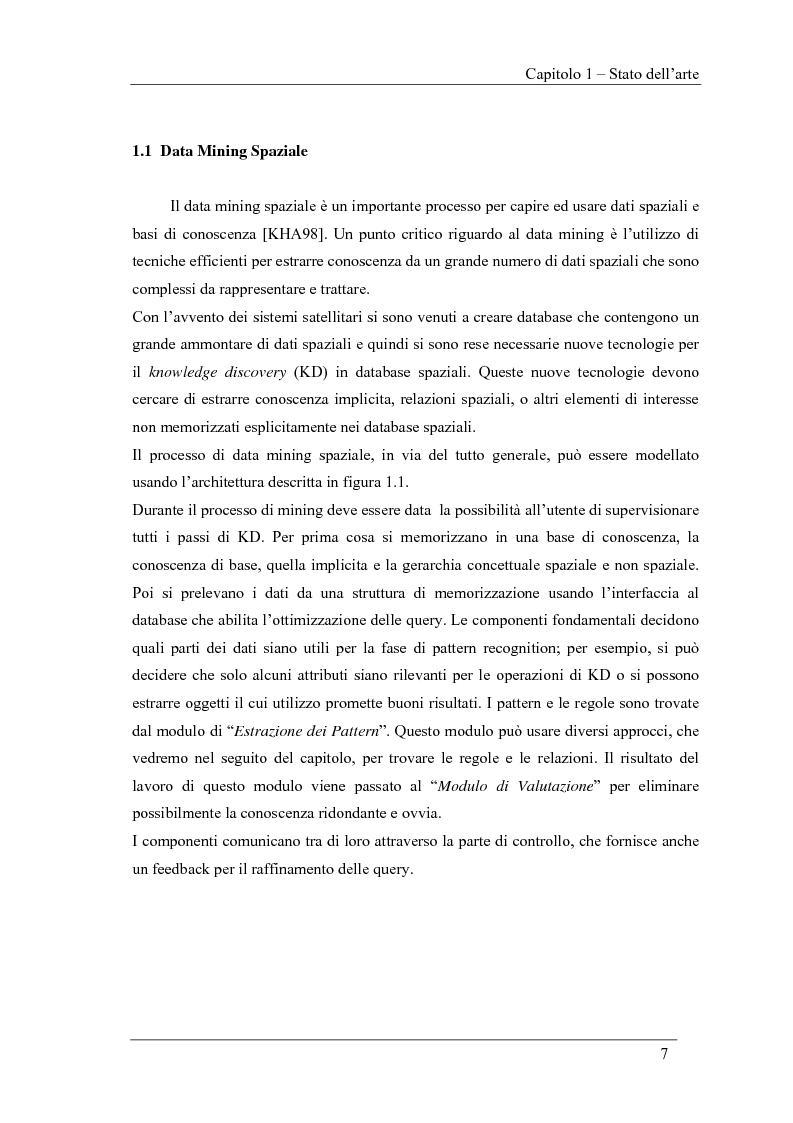 Anteprima della tesi: Ambiente logico per il Clustering Spazio-Temporale, Pagina 7