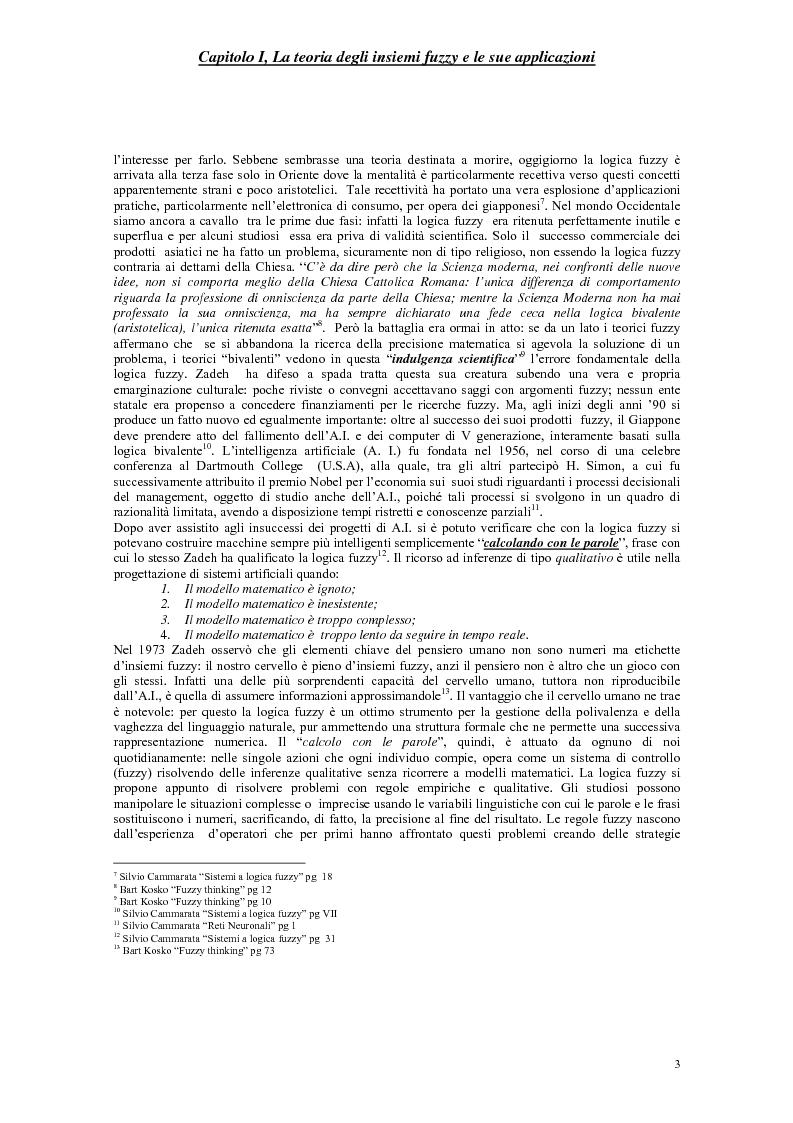 Anteprima della tesi: Le scelte pubbliche: un approccio fuzzy, Pagina 6